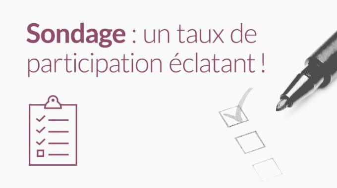 Sondage : Un Taux De Participation éclatant !