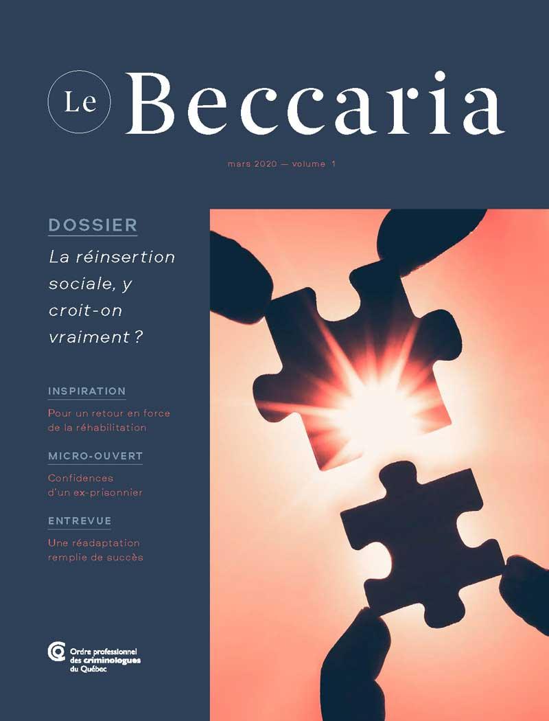Le Beccaria | Mars 2020 | Vol. 1