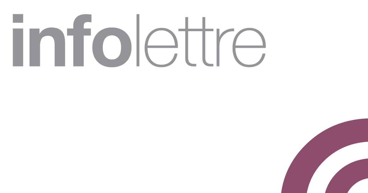 Infolettre De L'Ordre Professionnel Des Criminologues Du Québec