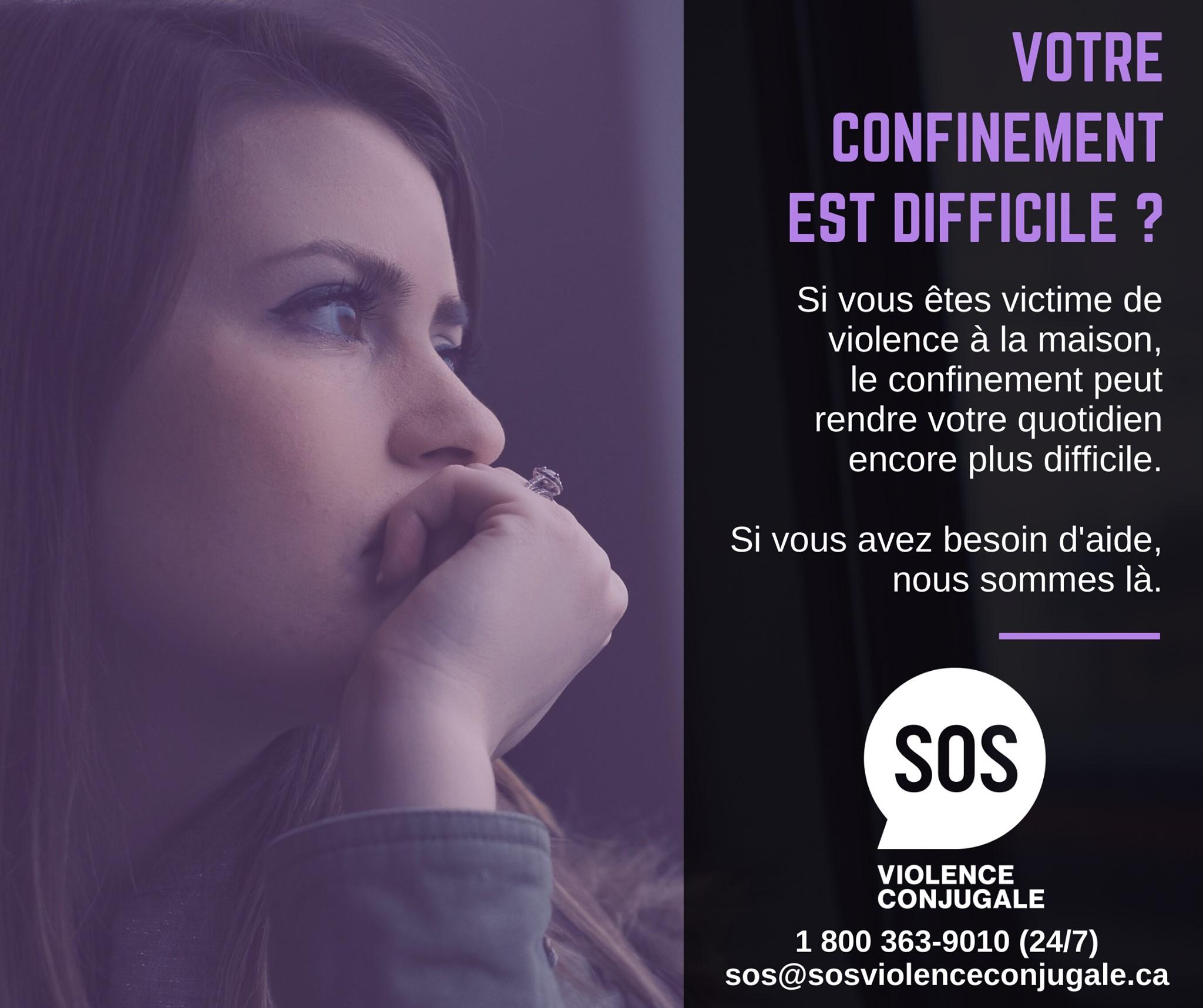 SOS violence conjugale