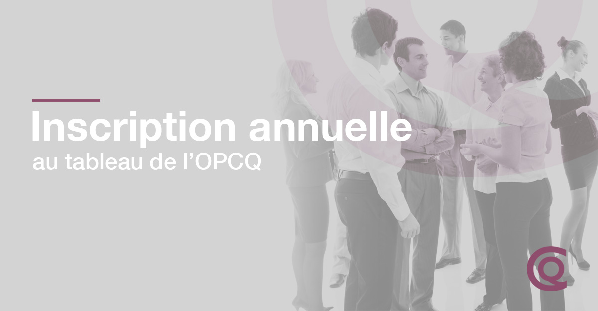 Inscription Annuelle