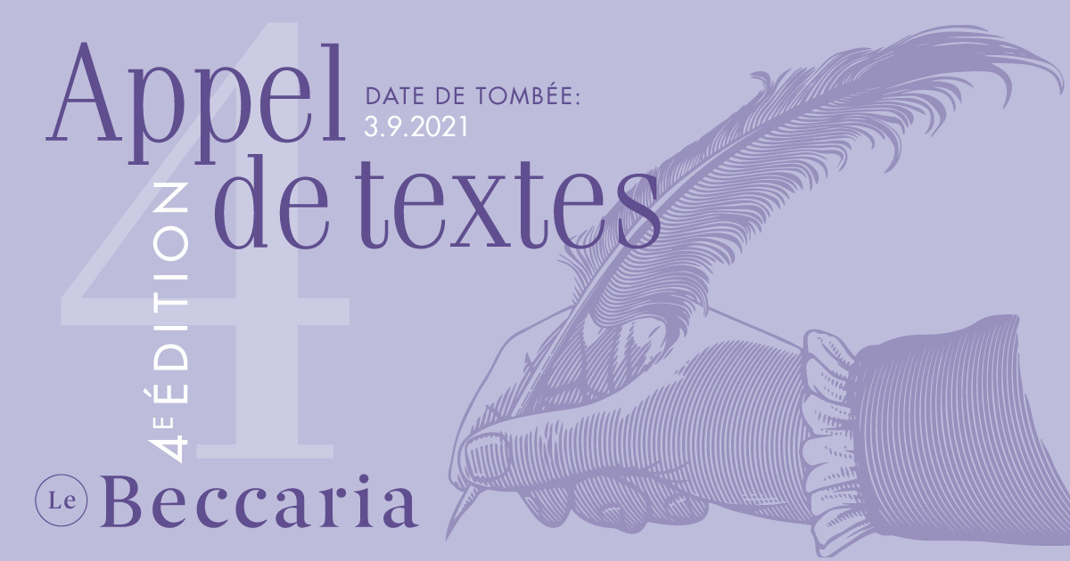 Le Becaria : Appel De Textes